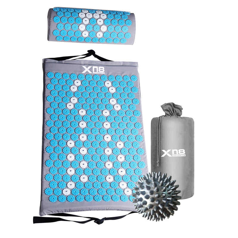 Xn8 Sports Acupressure Mat Benefits Turquoise