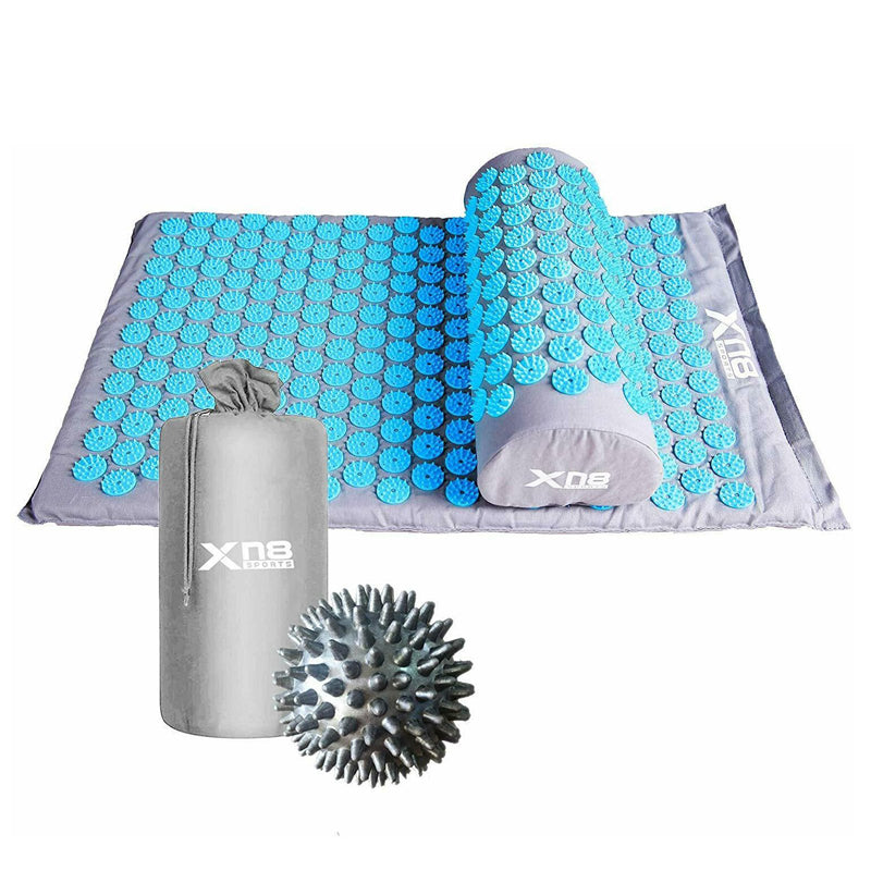 Xn8 Sports Benefits Of Acupressure Mat White Black