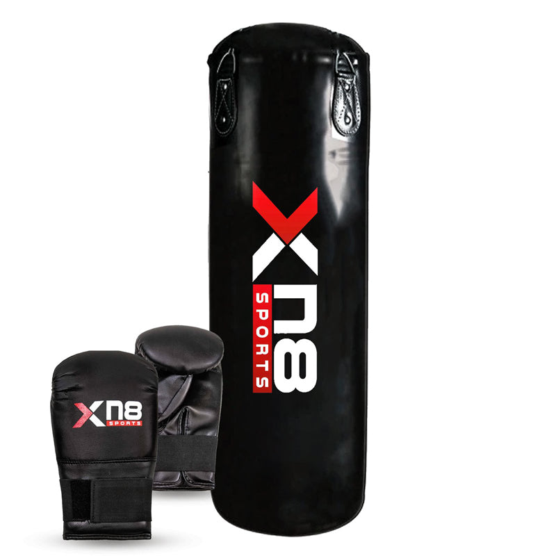 Xn8 Sports Standing Punching Bag Black