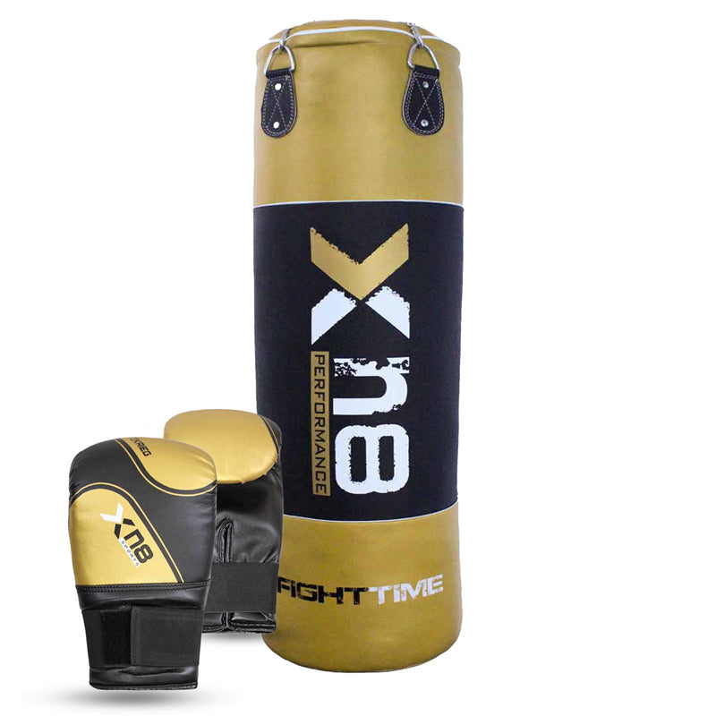 Xn8 Sports Kickboxing Punching Bag Gold