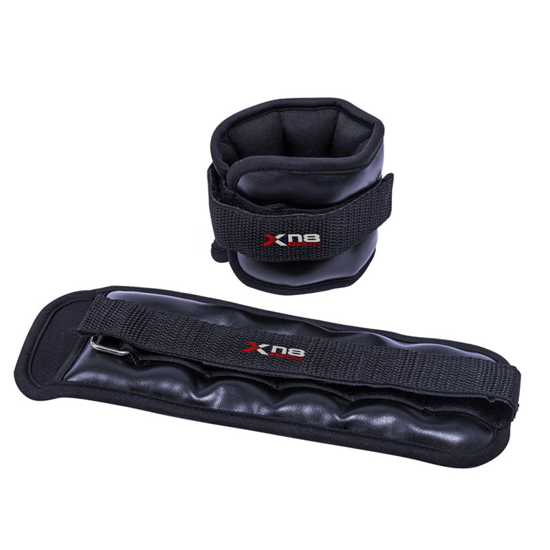 Xn8 Sports Ankle Weights Black