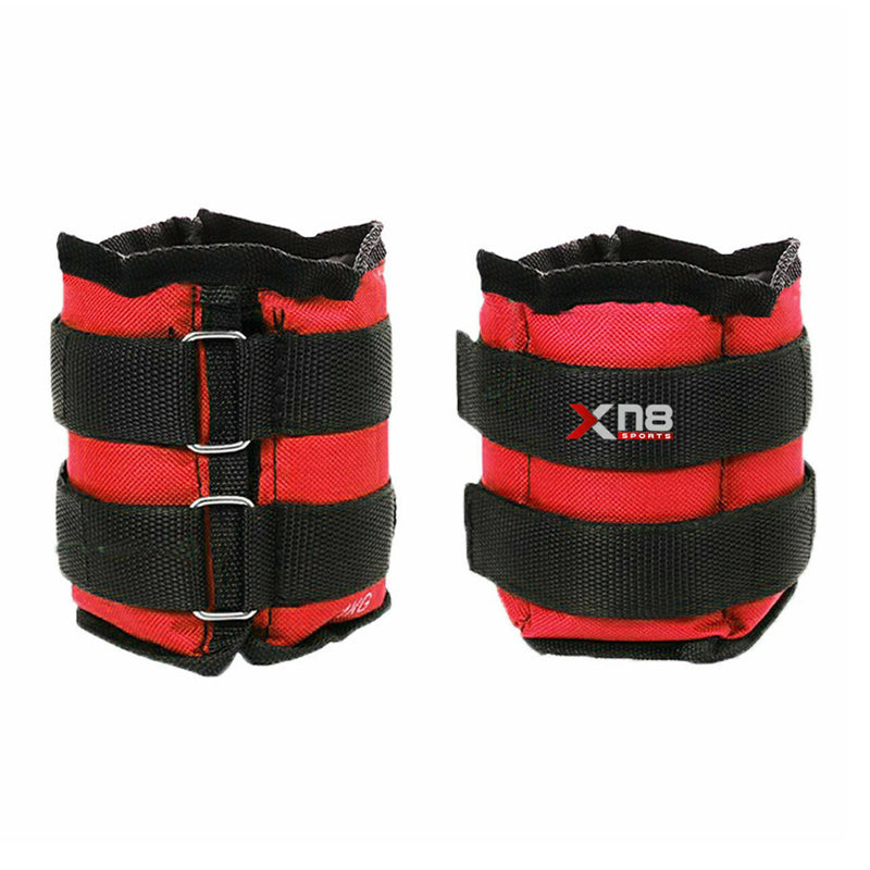 Xn8 Sports Ankle Weights 2Kg Red