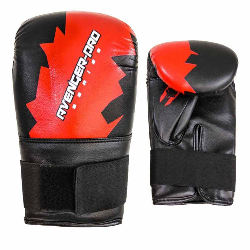 Xn8 Sports Boxing Bag Mitts Red