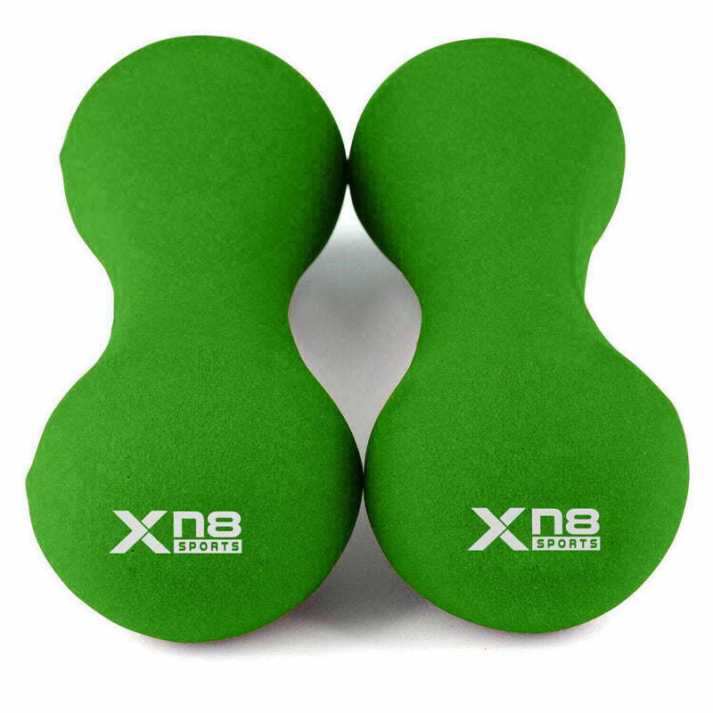 Xn8 Sports Dumbbells set Green