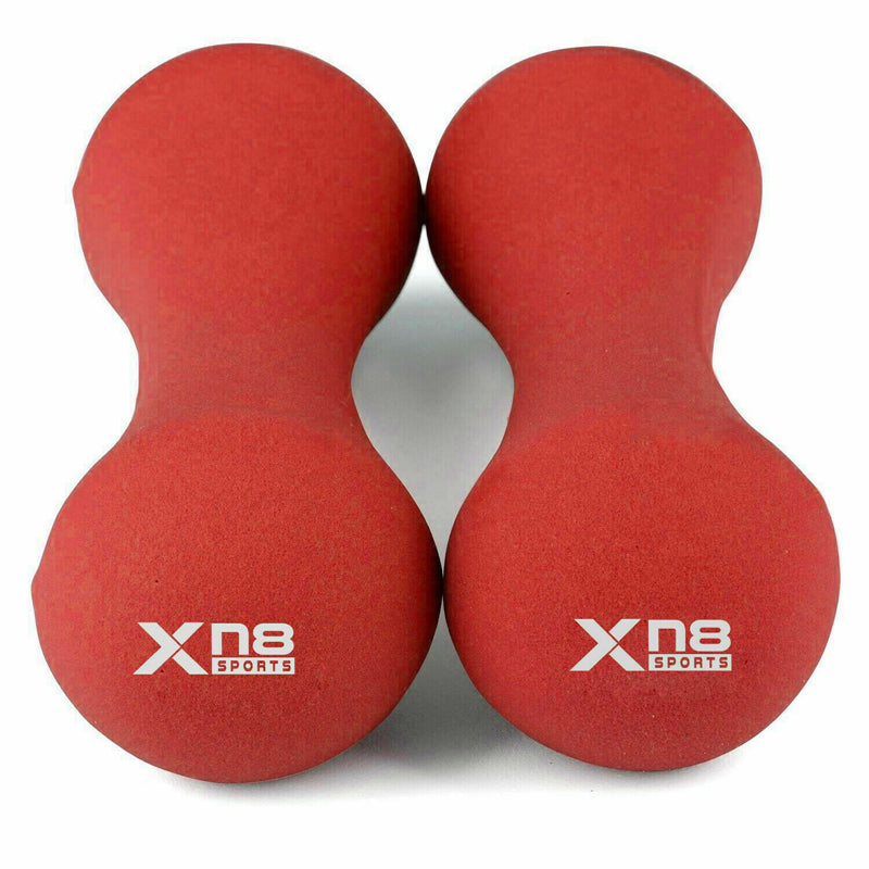 Xn8 Sports Dumbbells set Red