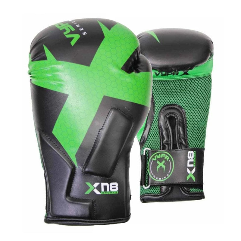 Xn8 Sports Ladies Boxing Gloves Green