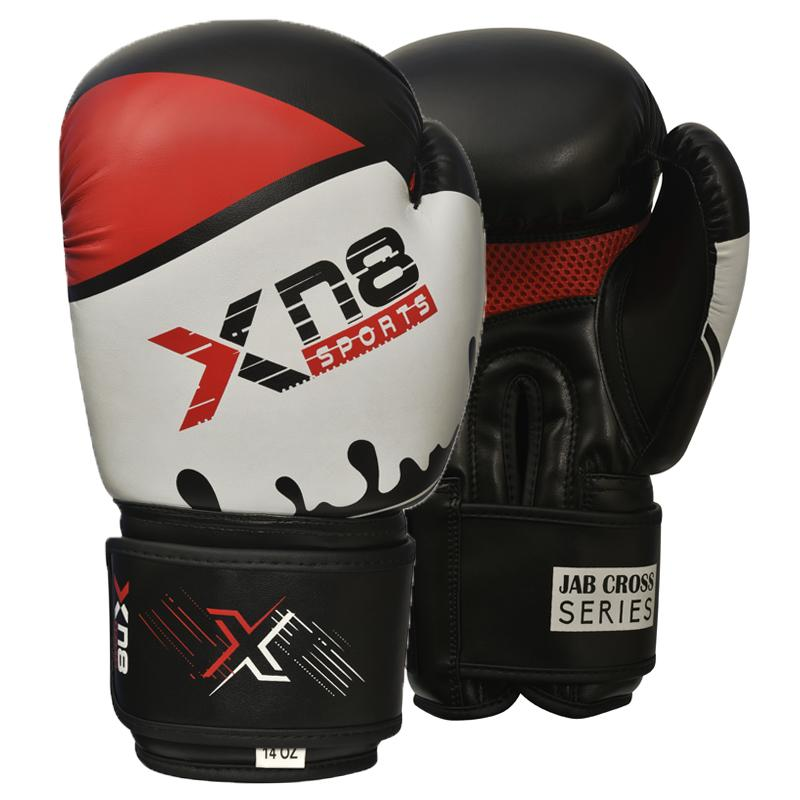Xn8 Sports Boxing Gloves Red