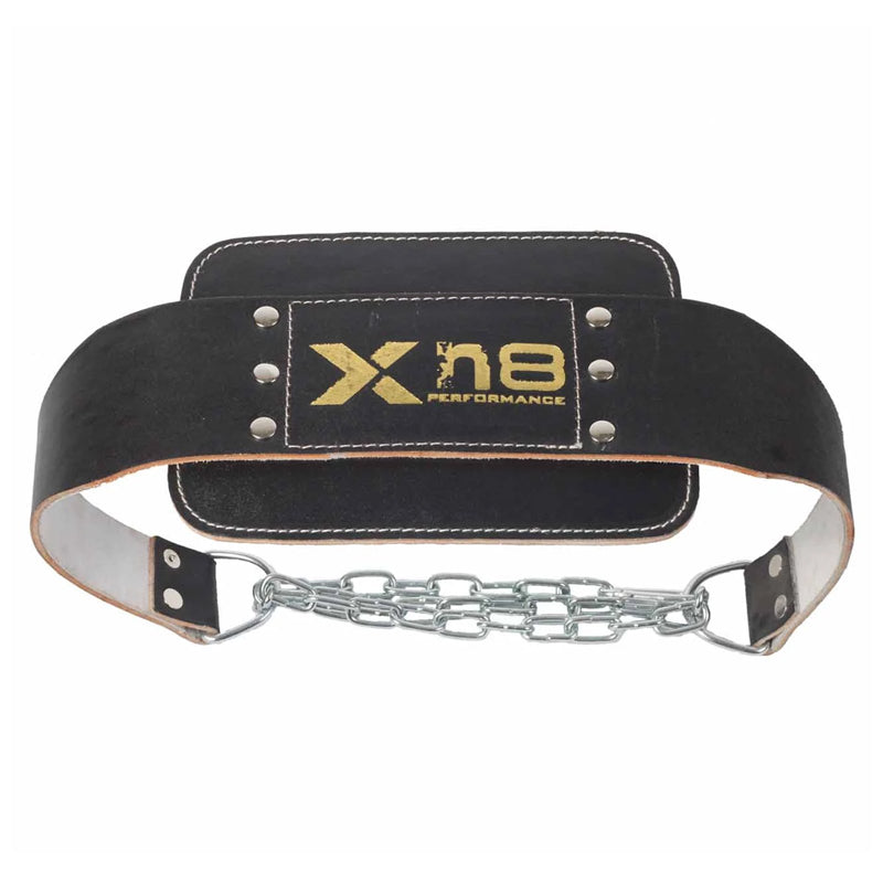 Xn8 Sports Dipping Belt Black back side