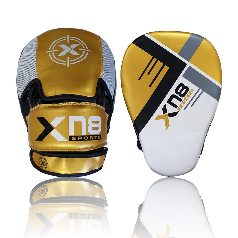 Xn8 Sports Focus Pads Golden