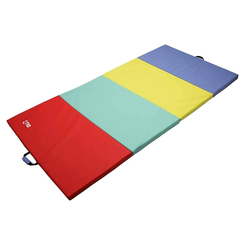 Xn8 Sports Folding Gymnastic Mats Rainbow3