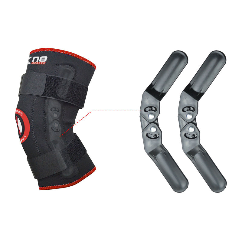 Xn8 Sports Womens Knee Brace Red