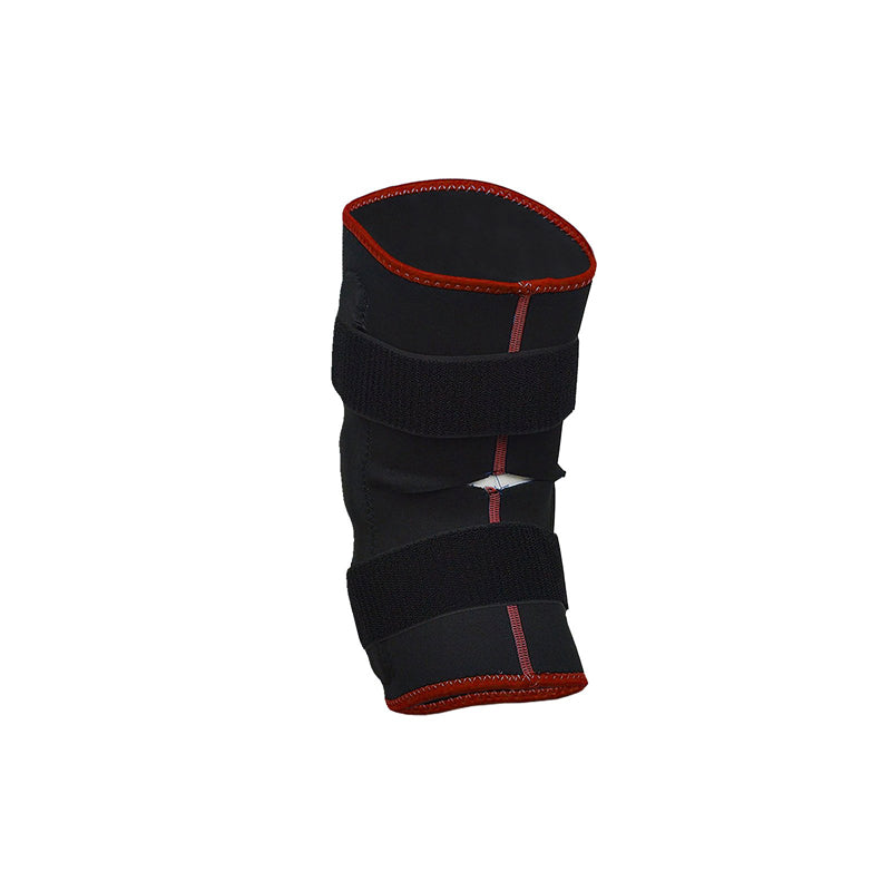 Xn8 Sports Black Knee Support Red