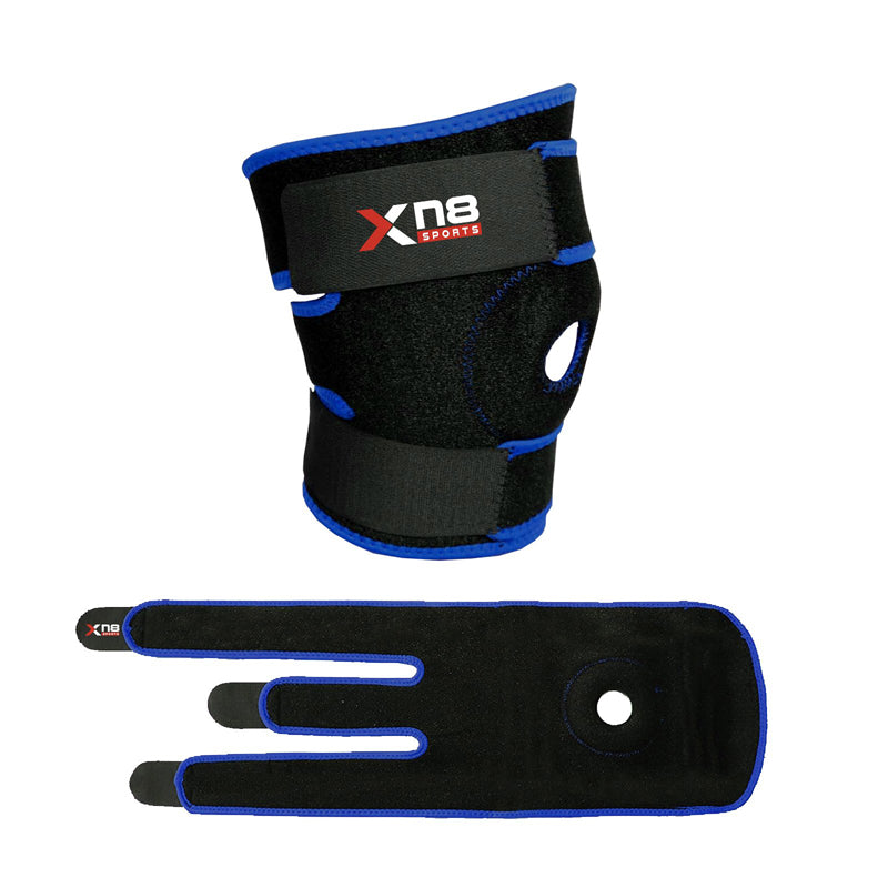 Xn8 Sports Boxing Knee Brace Blue