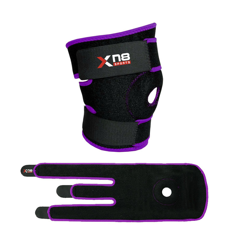 Xn8 Sports Womens Knee Brace Purple