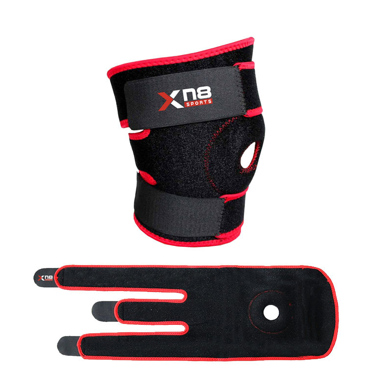 Xn8 Sports Best Knee Brace For Gymnastics Red