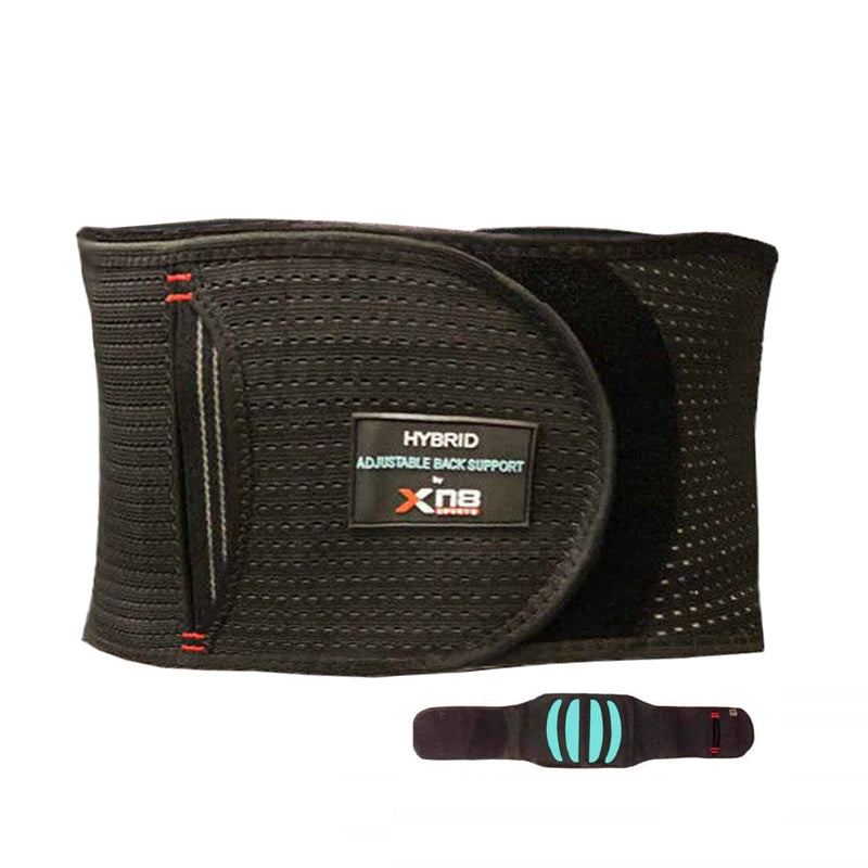 Xn8 Sports Back Support Belt Black
