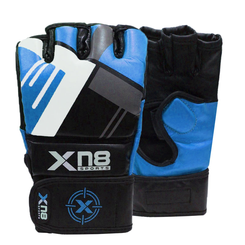 Xn8 Sports Gloves For MMA Blue