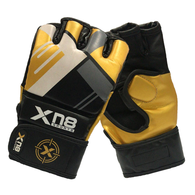 Xn8 Sports Gloves For MMA Gold