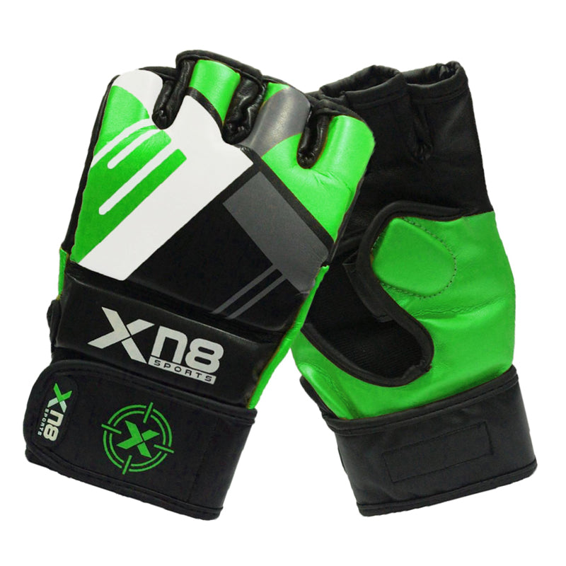 Xn8 Sports Womens MMA Gloves Green
