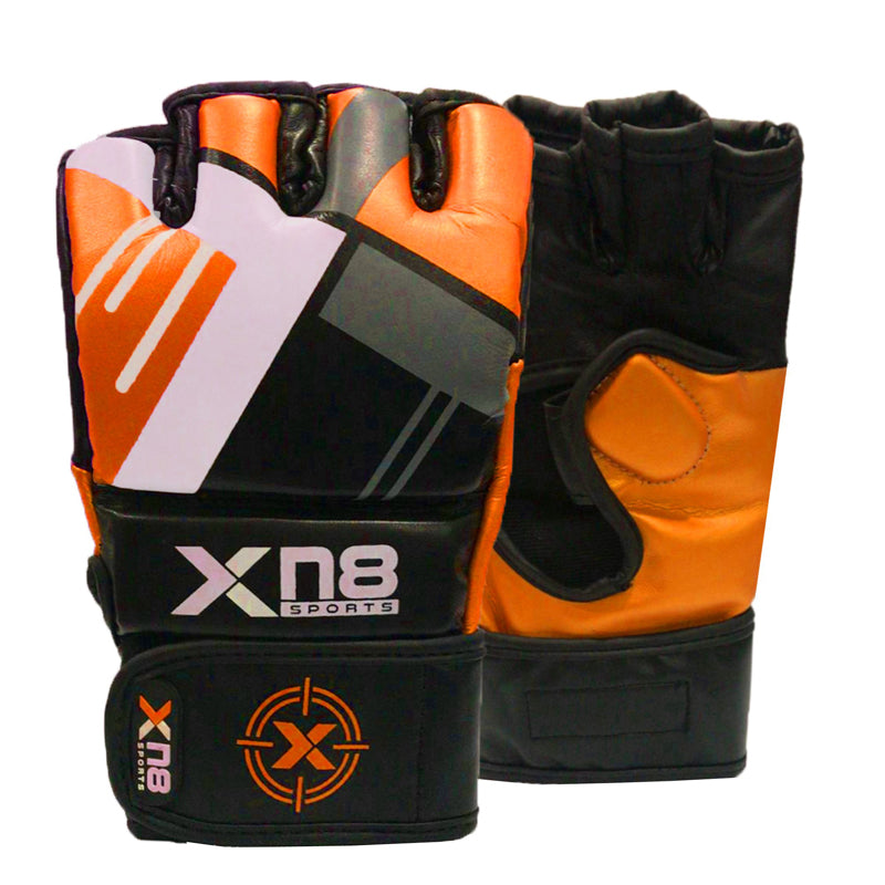 Xn8 Sports MMA Gloves Orange