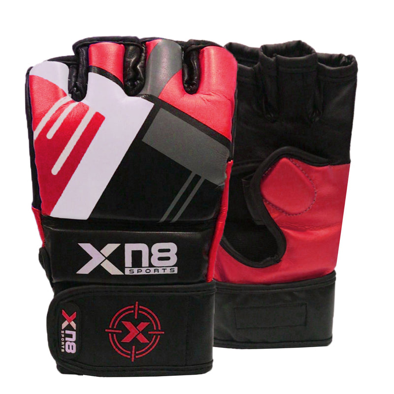 Xn8 Sports MMA Gloves Red