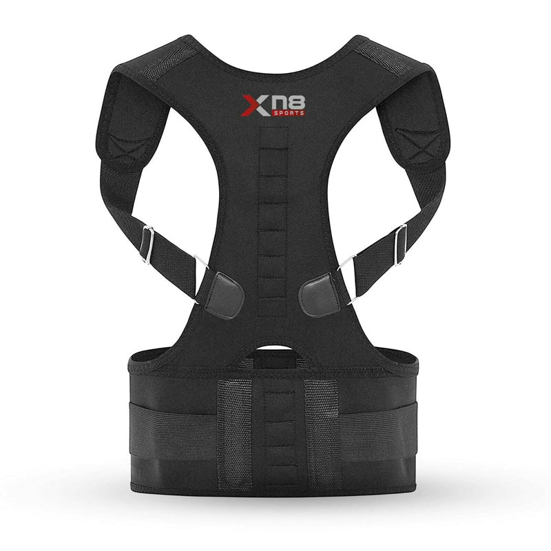 Xn8 Sports Shoulder And Back Support Black