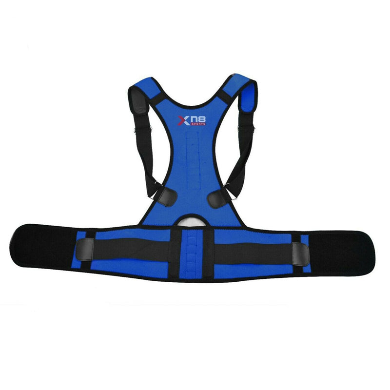 Xn8 Sports Back Support Belt Blue