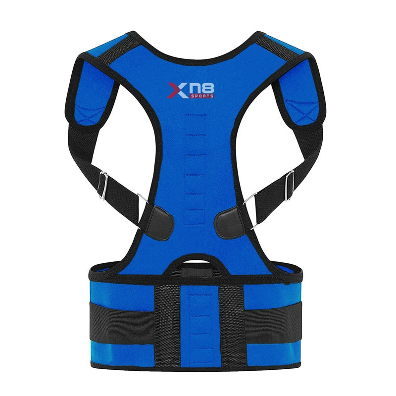 Xn8 Sports Back Support Blue