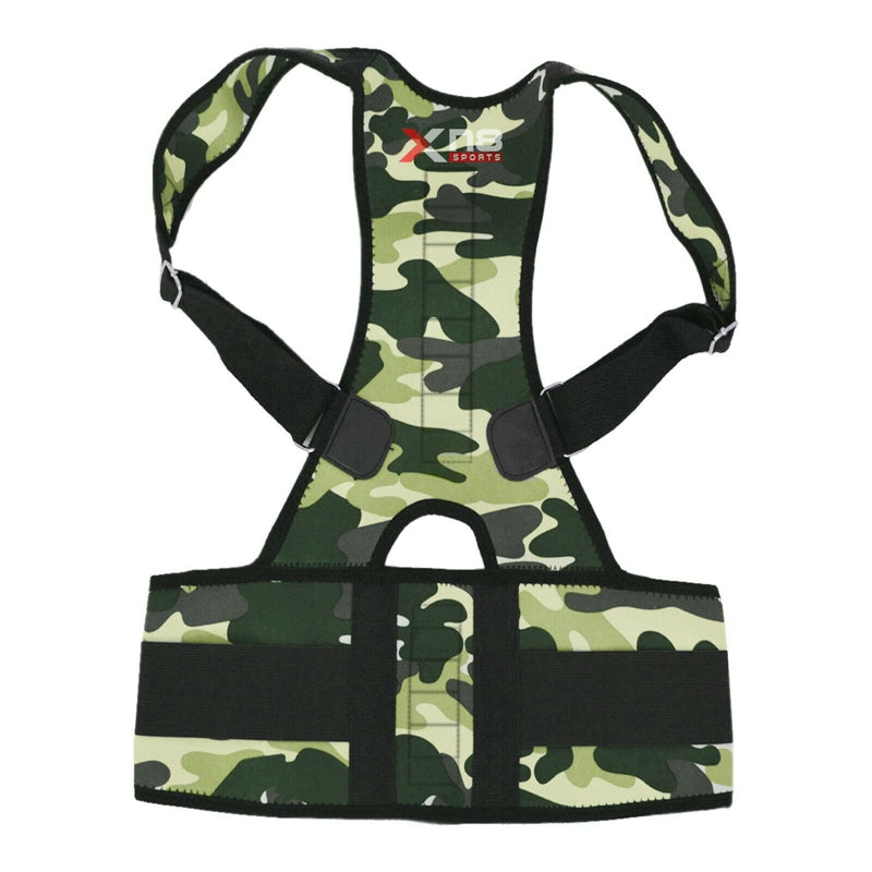 Xn8 Sports Low Back Supports Camouflage