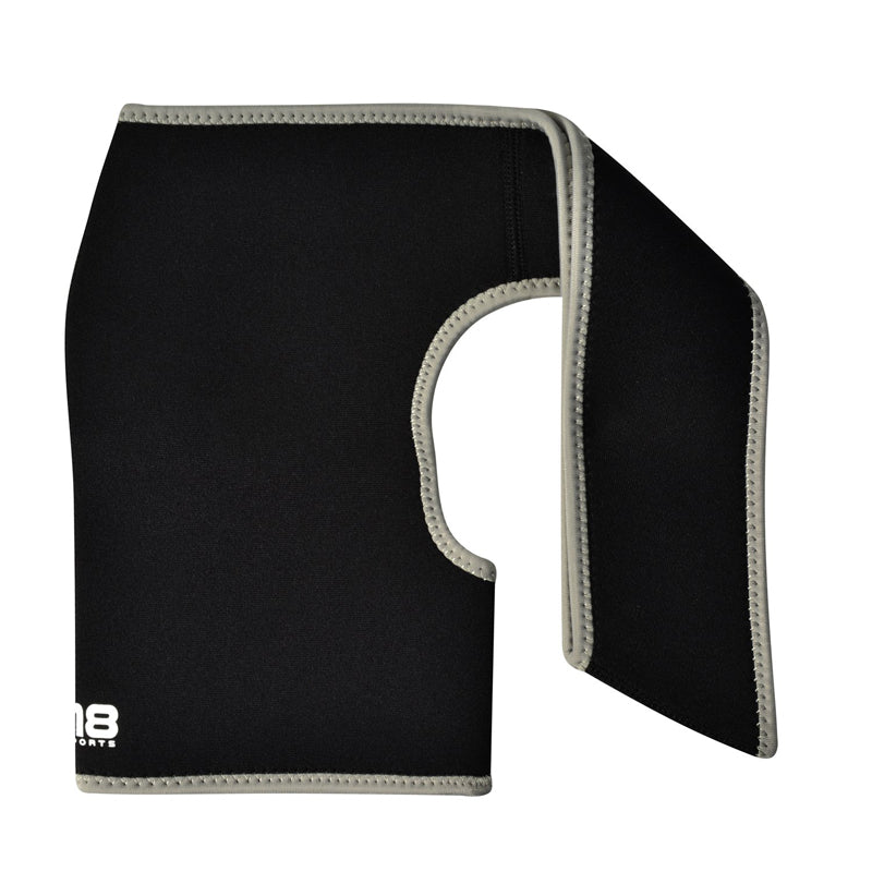 Xn8 Sports Back Support Belt Grey
