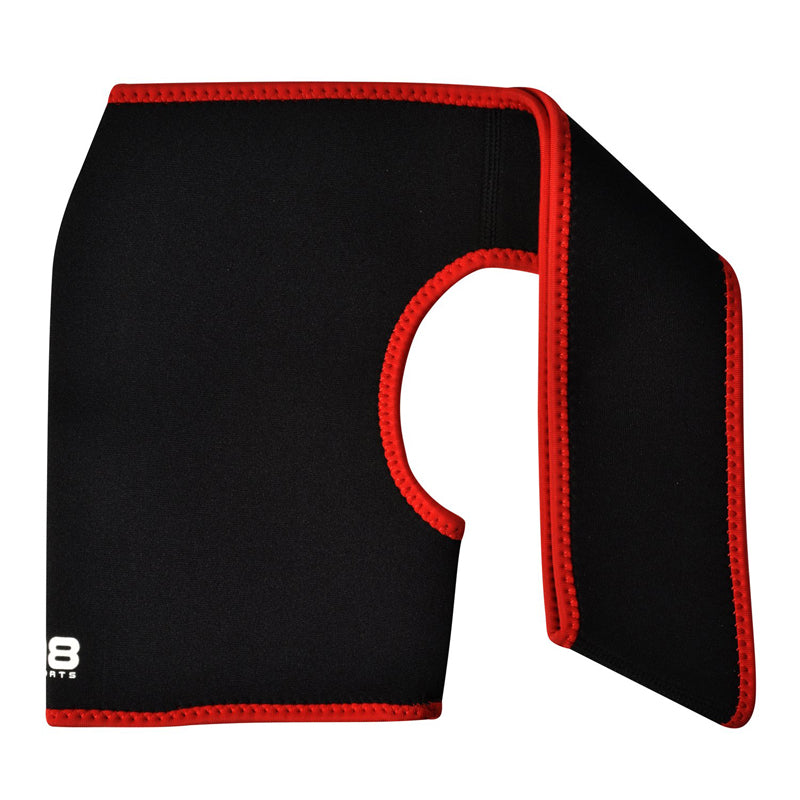 Xn8 Sports Back Support Belt Red
