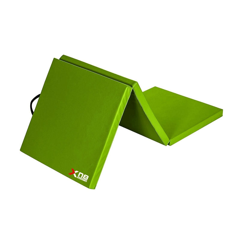 Xn8 Sports Folding Gymnastic Mats Green