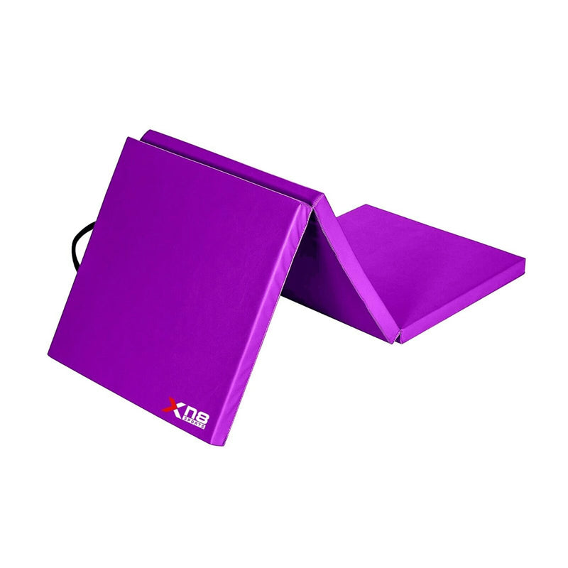 Xn8 Sports Folding Gymnastic Mats For Home Purple