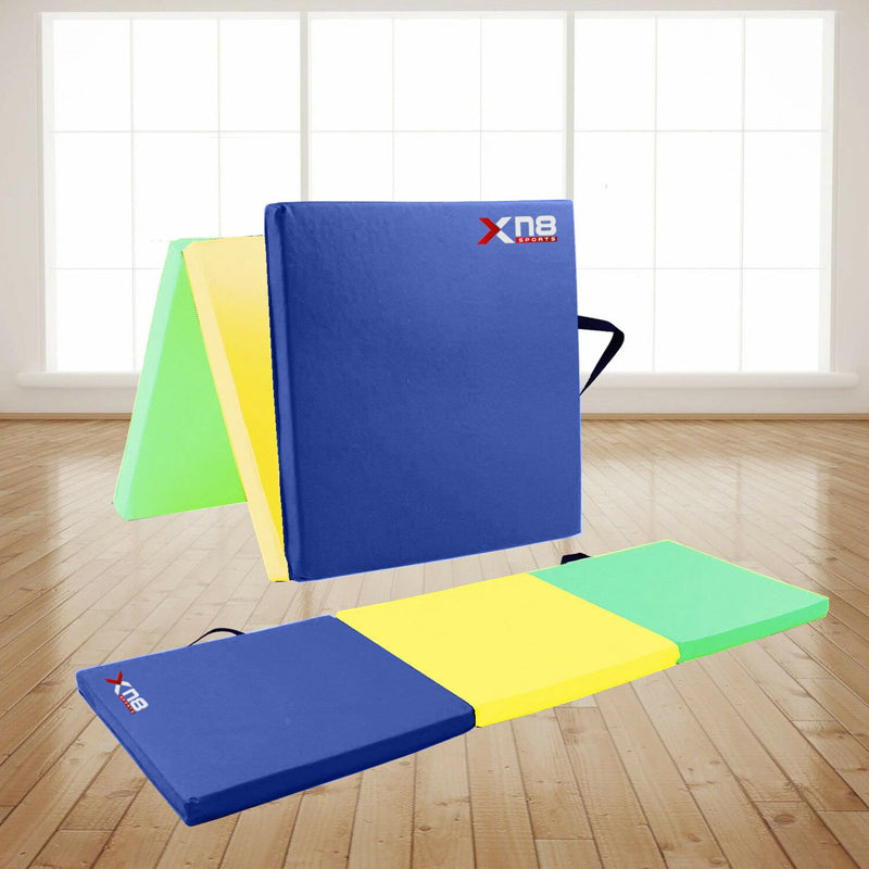 Xn8 Sports Gymnastic Mat For Kids Rainbow 3