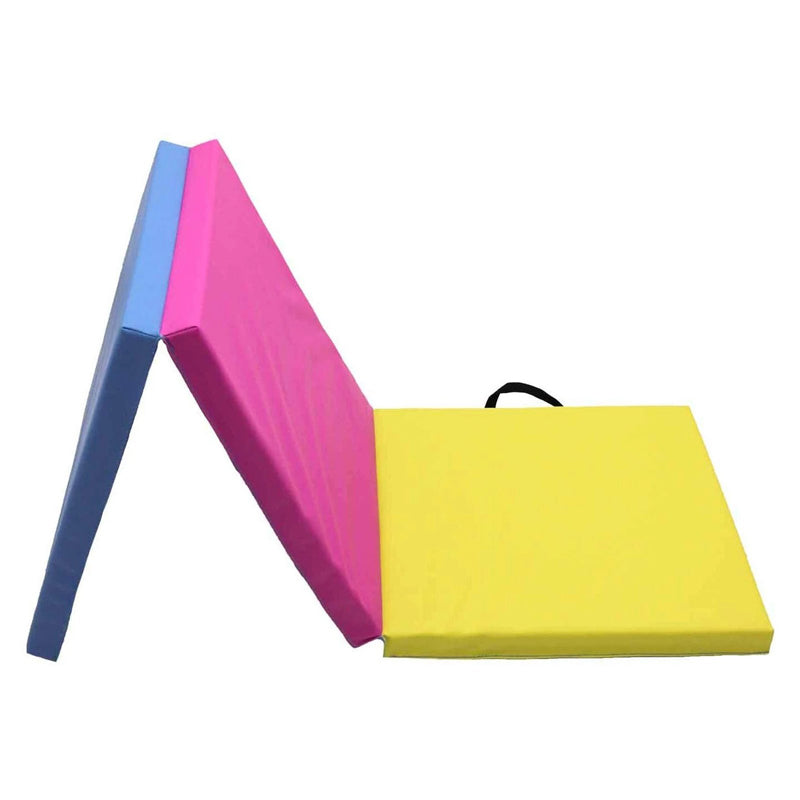 Xn8 Sports Folding Gymnastic Mats Rainbow 4