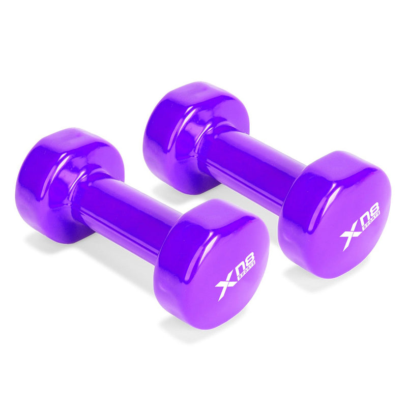 Xn8 Sports Cheap Dumbbells Purple