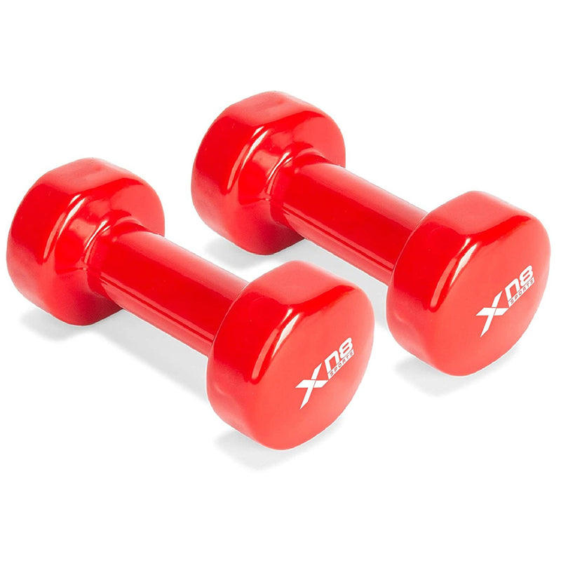 Xn8 Sports Best Dumbbells Red