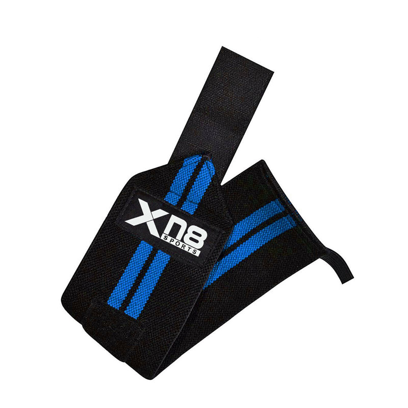 Xn8 Sports Wrist Straps Lifting Blue