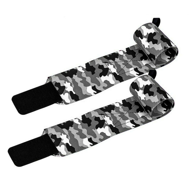 Xn8 Sports Wrist Straps Lifting Camouflage Black