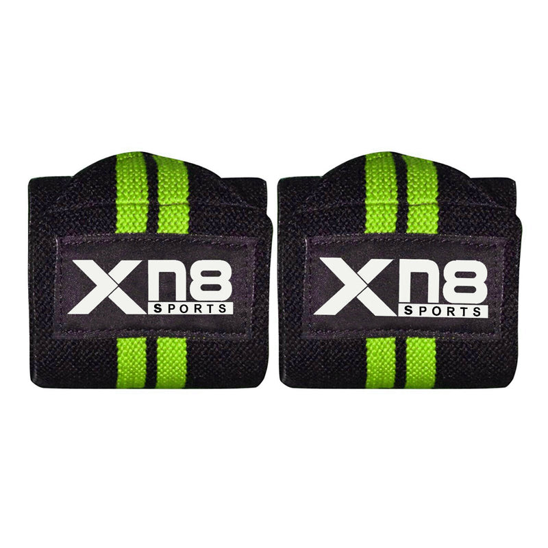 Xn8 Sports Wrist Straps Weightlifting Green