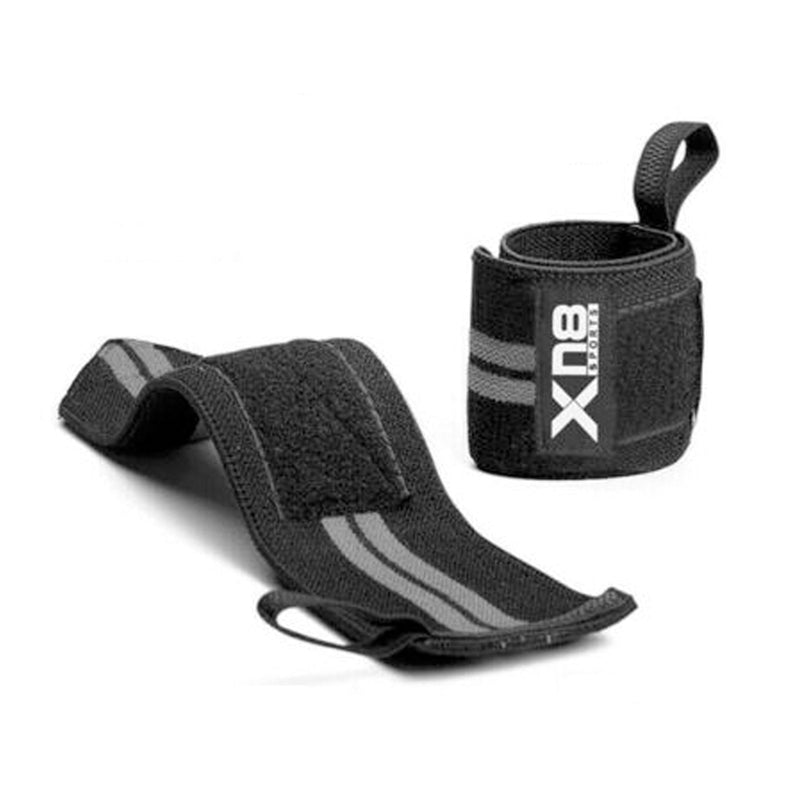 Xn8 Sports Wrist Straps Lifting Grey Colour