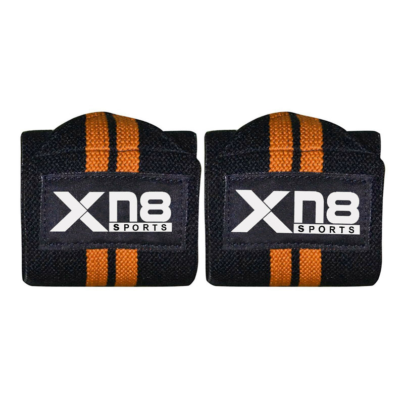 Xn8 Sports Wrist Strap Leather Orange