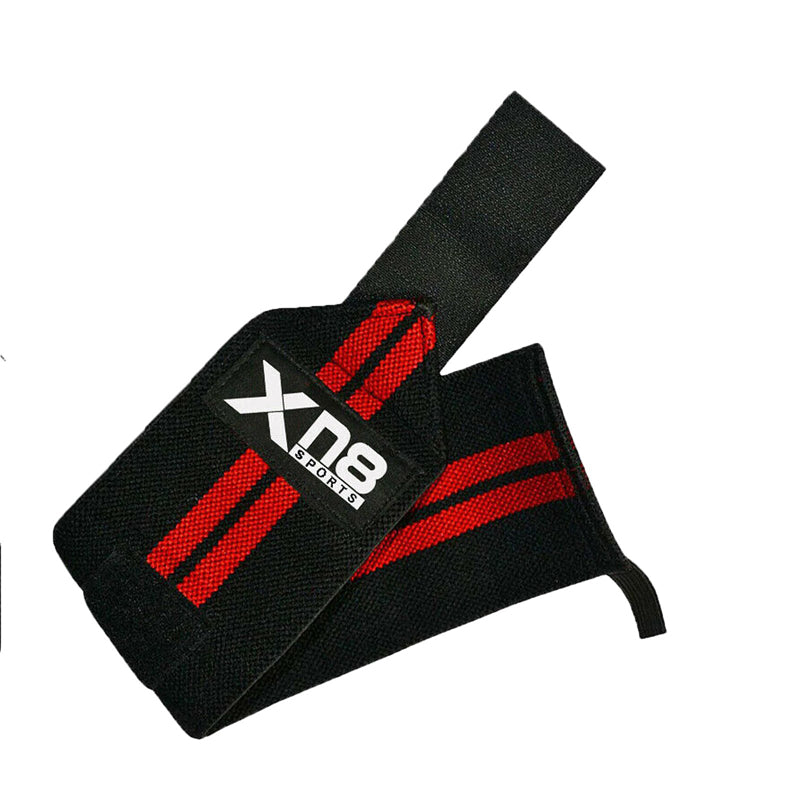 Xn8 Sports Wrist Strap Weightlifting Red Colour