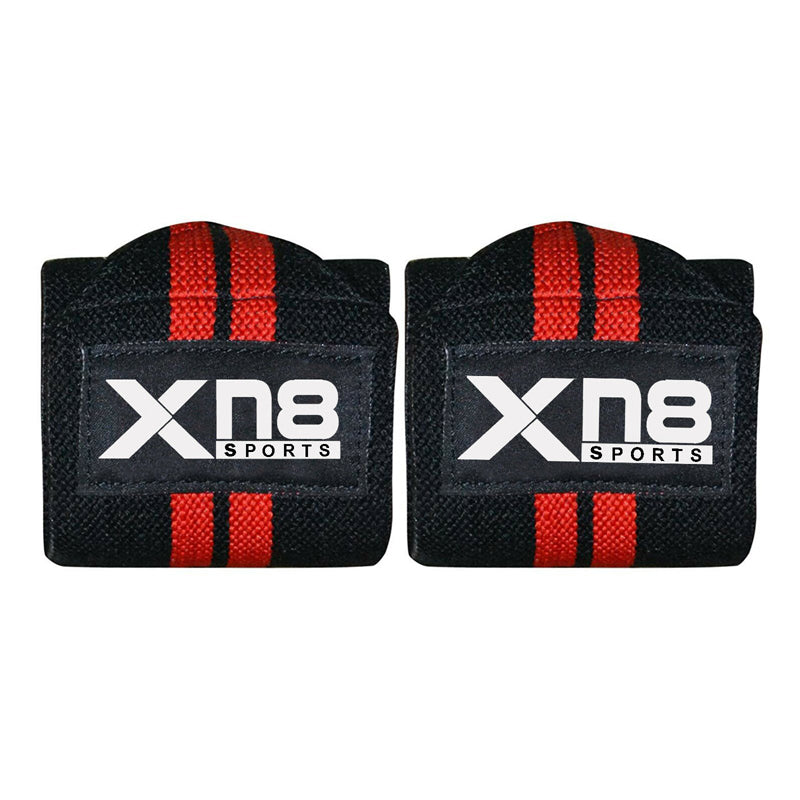 Xn8 Sports Wrist Strap Lifting Red