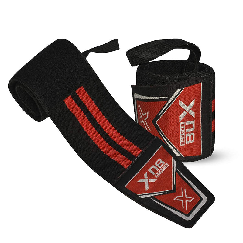 Xn8 Sports Weightlifting Wrist Support Red
