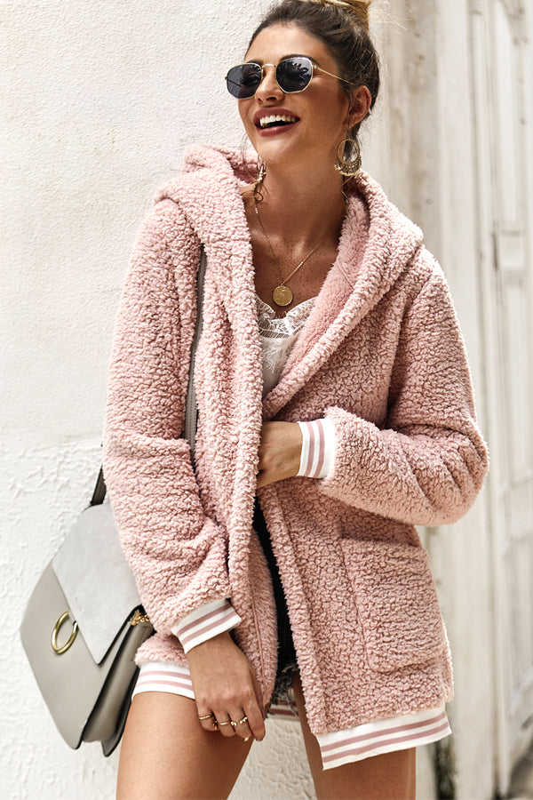 Make Me Blush Lady Coat-Apparel-Cocoplum Boutique