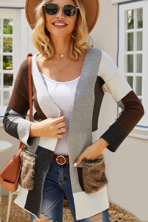 Laid Back Multi Knit Sweater-Apparel-Cocoplum Boutique