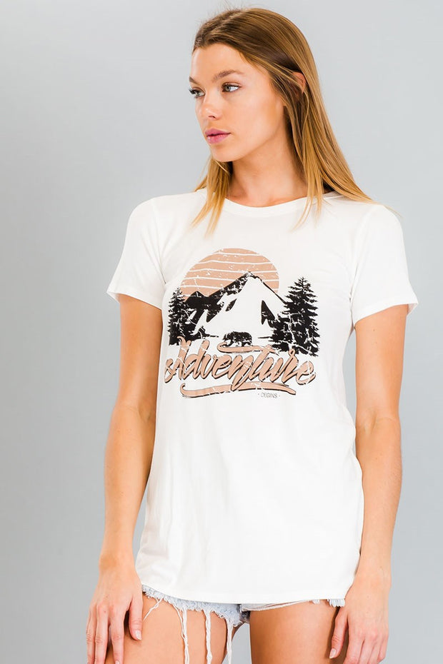 Graphic Adventure Tee-Apparel-Cocoplum Boutique