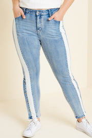 Stretch Denim Skinny Jeans-Apparel-Cocoplum Boutique