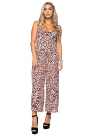 Kitty Tie Front Jumpsuit-Apparel-Cocoplum Boutique